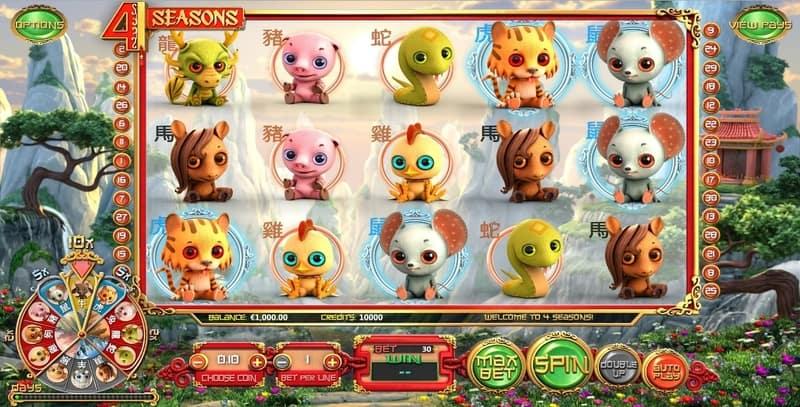 4 Seasons Online Slots Machine