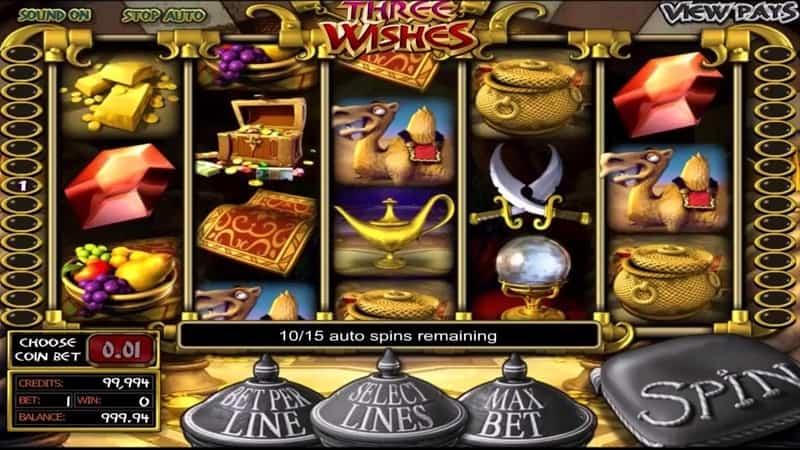 Arabian Wishes Slot Machine