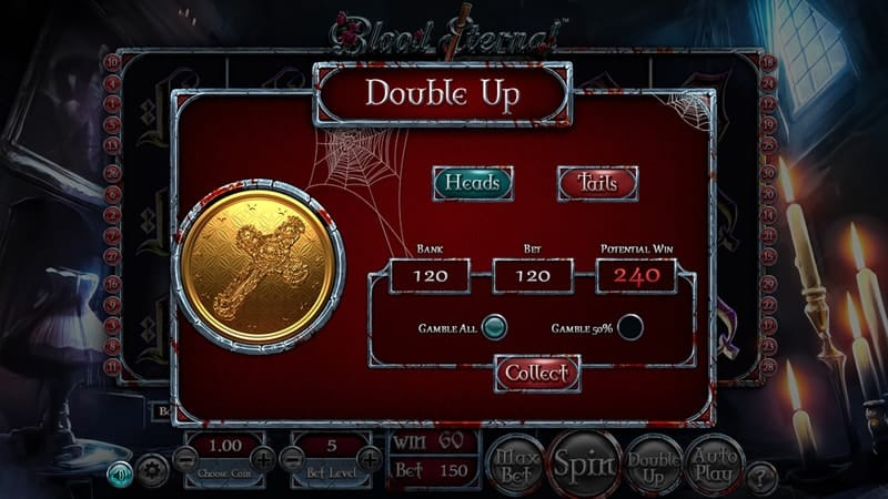 Blood Eternal Slot Machine Double-Up