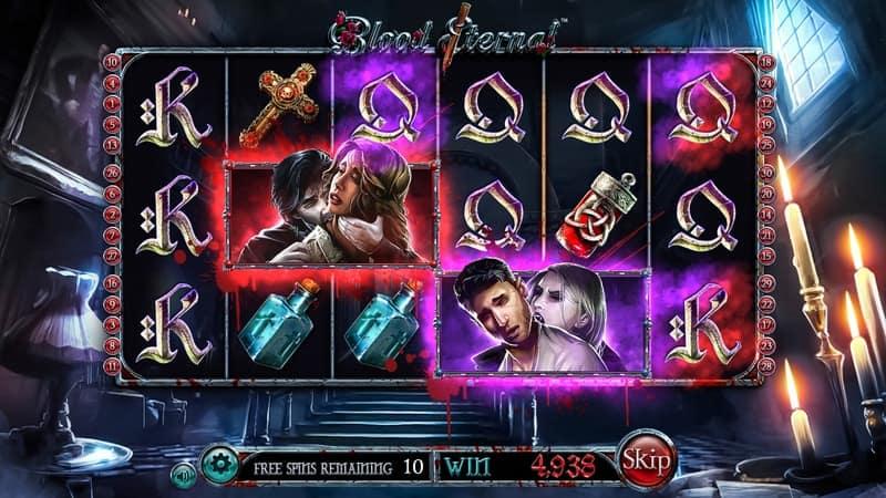 Blood Eternal Slot Machine Free Spins