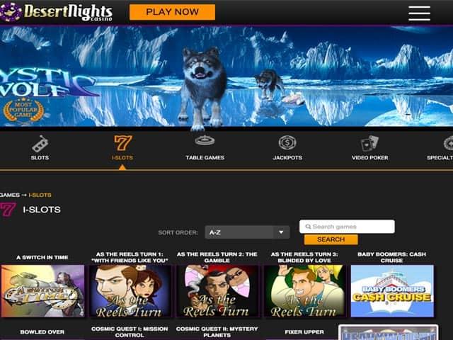 Desert Nights Casino Online
