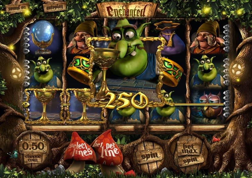 Enchanted Slot Machine Paylines