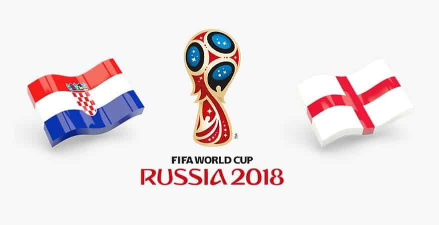 FIFA World Cup 2018 Semi Finals Croatia-VS-England