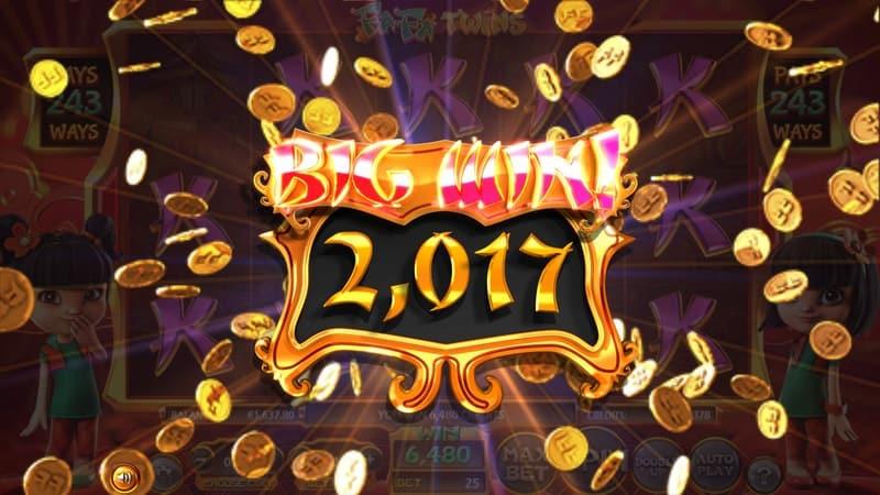 Fa Fa Twins Slot Machine Big Win
