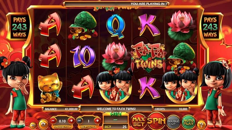Fa Fa Twins Slot Machine Preview