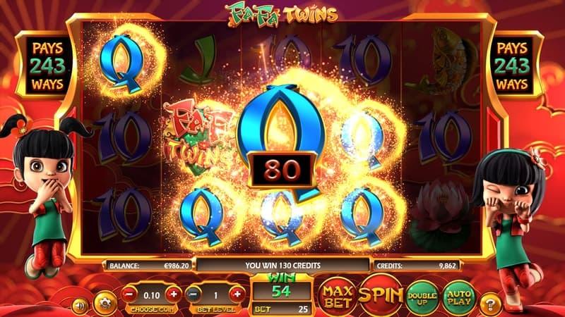 Fa Fa Twins Slot Machine Preview Win