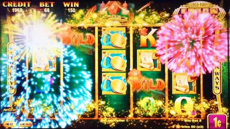 Firecrackers Slot Machine