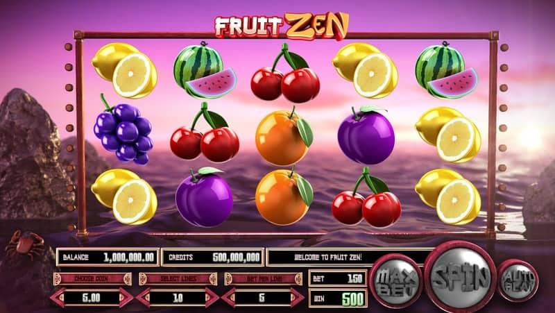 Fruit Zen Online Slot Machine