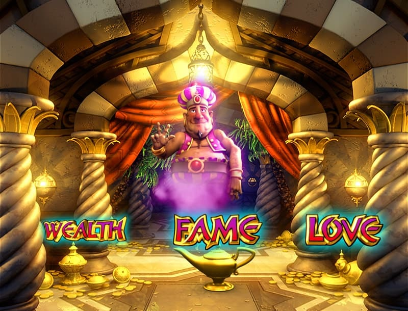 Genies Fortune Slot Machine 3 Wishes