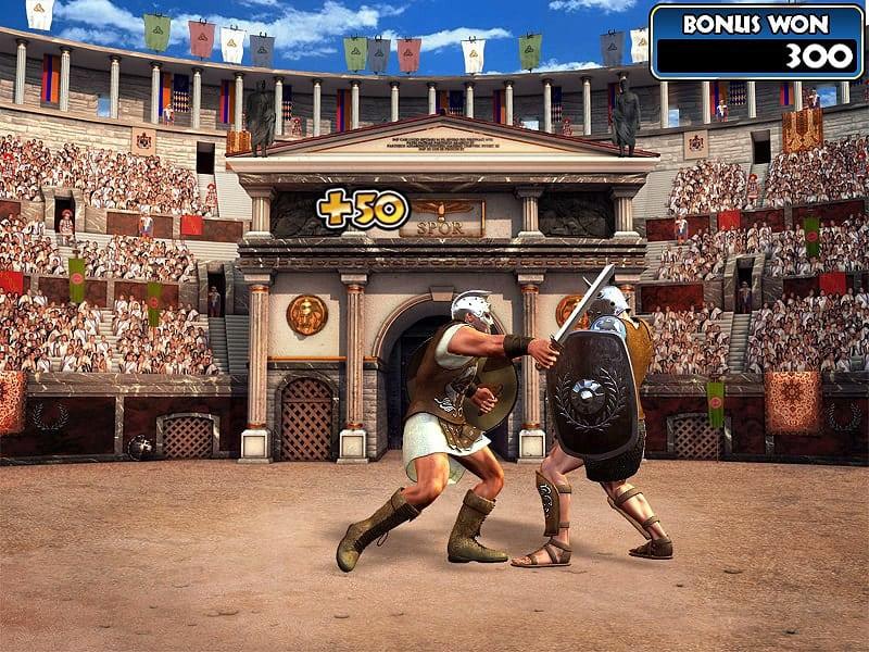 Gladiator Slot Machine Colosseum