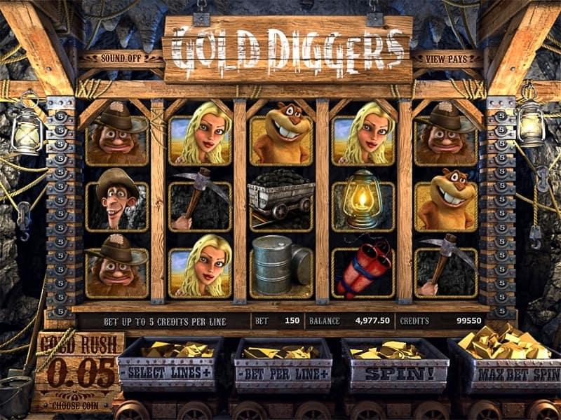 Gold Diggers Slot Machine