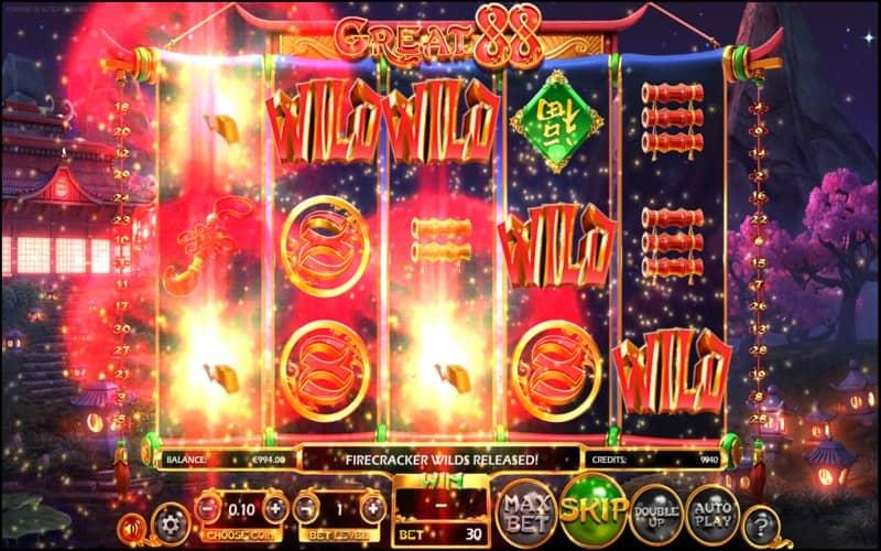 Great 88 Slot Machine Wilds