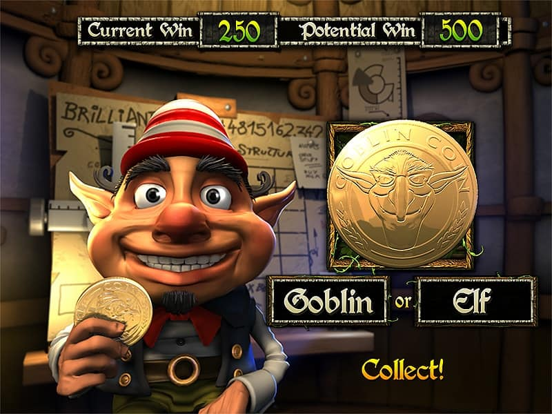 Greedy Goblins Slot Machine Double-Up