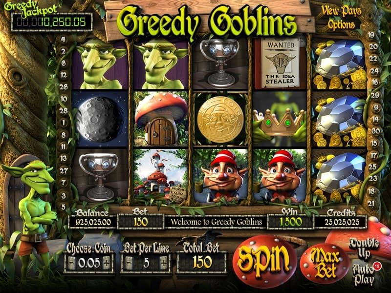 Greedy Goblins Slot Machine Preview
