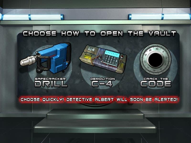 Heist Slot Machine Bonus Round