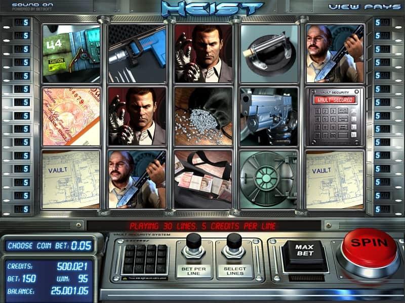 Heist Slot Machine