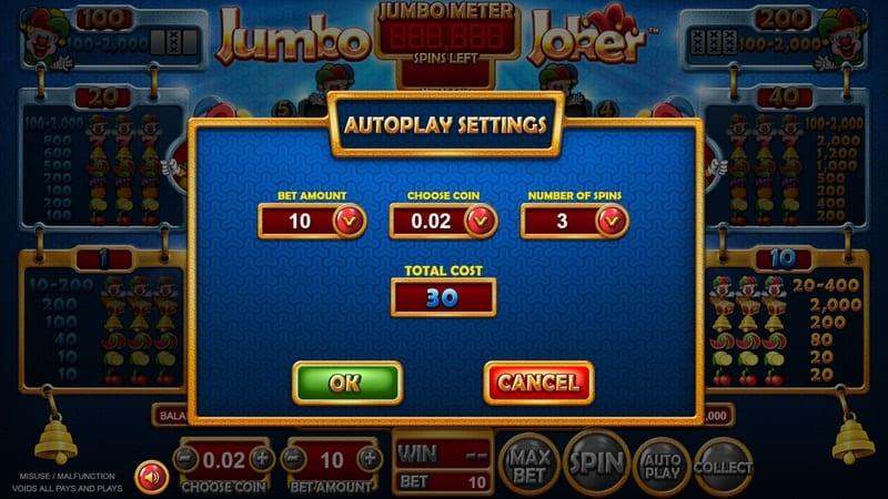 Jumbo Joker Slot Machine Auto Play
