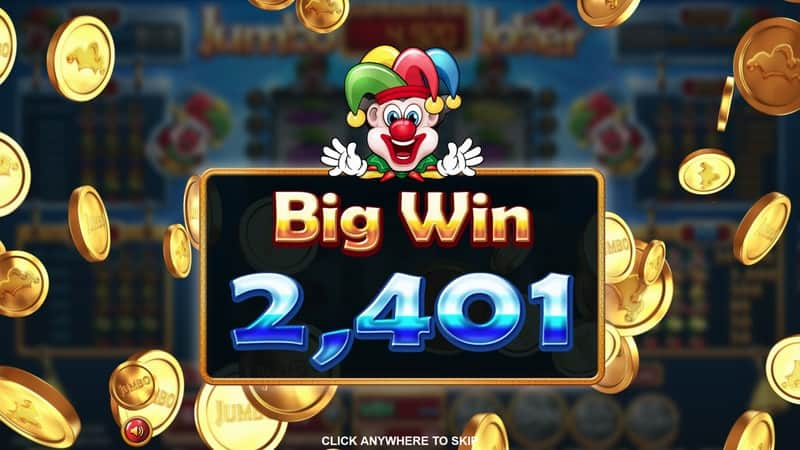 Jumbo Joker Slot Machine Big Win