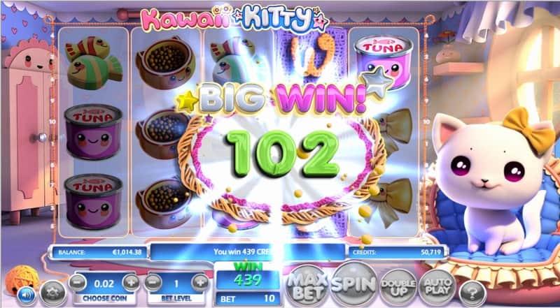 Kawaii Kitty Slot Machine Big Win