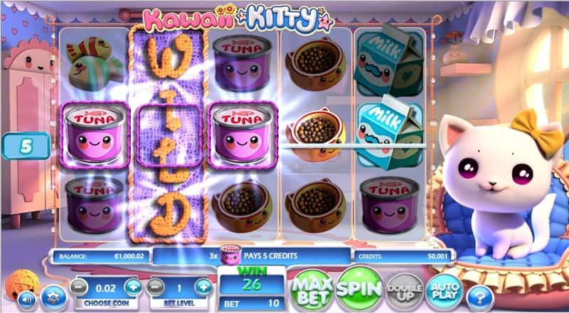 Kawaii Kitty Slot Machine Tuna Wild