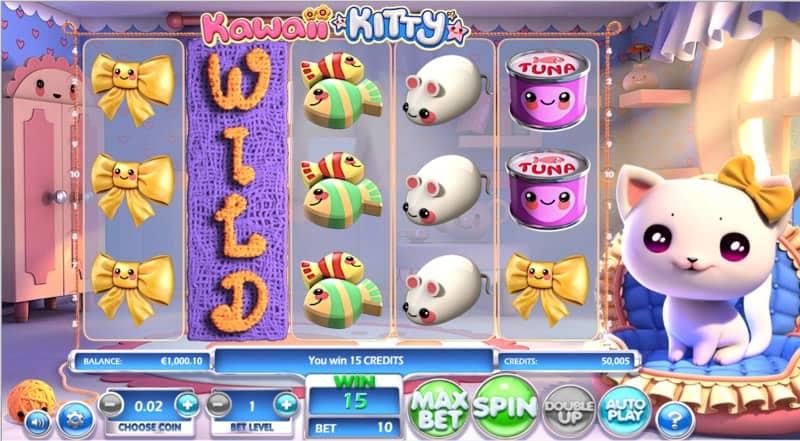 Kawaii Kitty Slot Machine Wilds