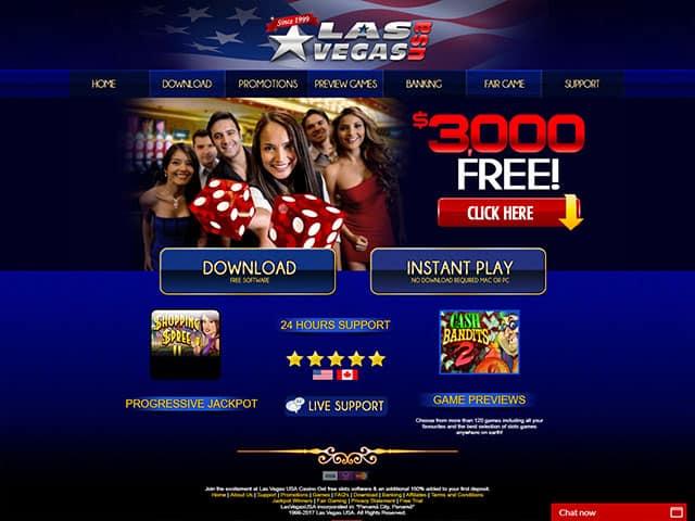 Las Vegas USA Casino Online