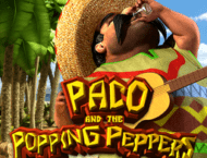Paco and the Popping Peppers Slot Machine