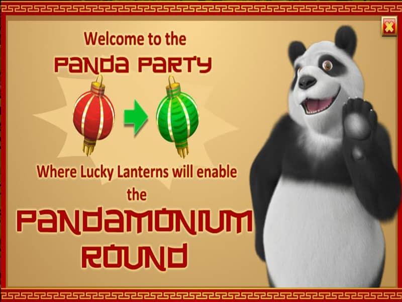 Panda Party Slot Screen1