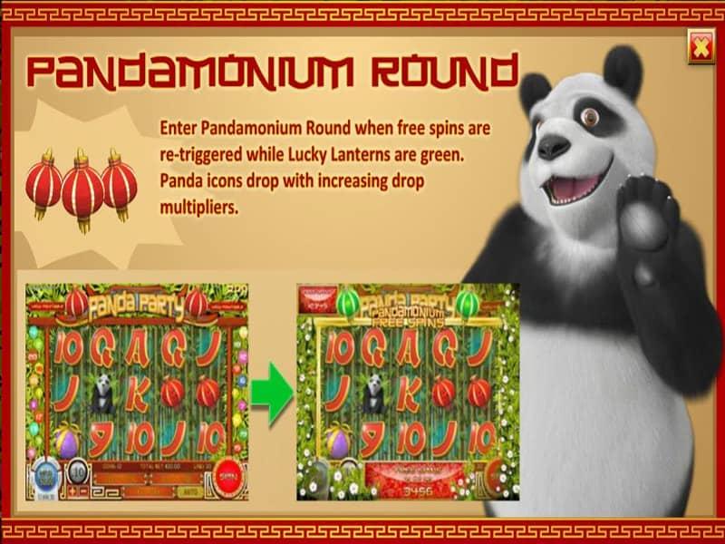 Panda Party Slot Screen2