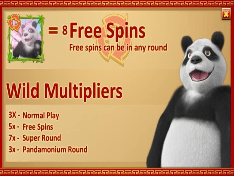 Panda Party Slot Screen3