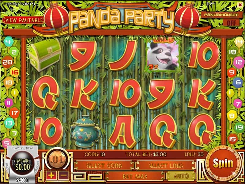 Panda Party Slot by Rival Powered