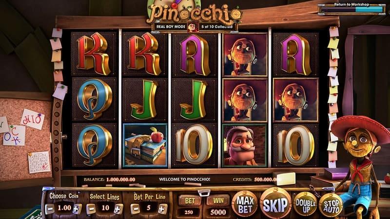Pinocchio Slot Machine Classroom