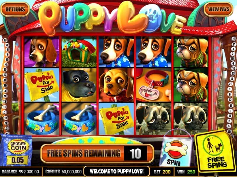 Puppy Love Slot Machine Free Spins