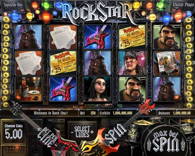 Rockstar Slot Machine