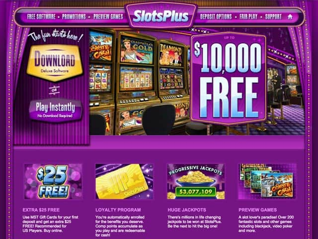 Slots Plus Casino Online