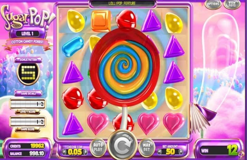 Sugar Pop Slot Machine Candy