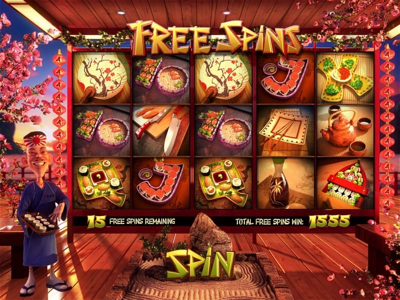 Sushi Bar Slot Machine Free Spins
