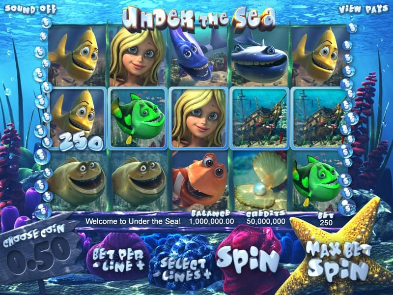 Under The Sea Slot Machine