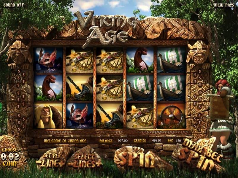 Viking Age Slot Machine