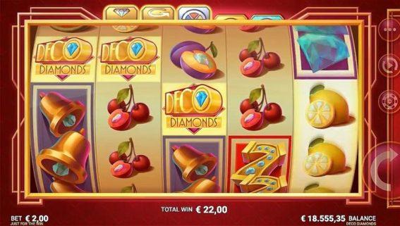 Deco Diamonds Online Casino Slot